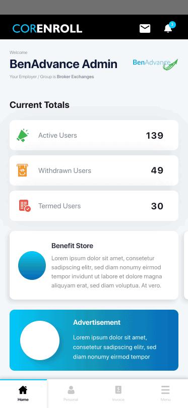 Corenroll Screenshot